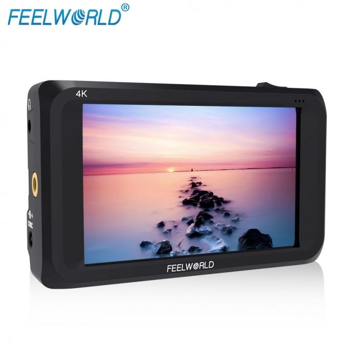 富威德S450-M 4.5寸4KHDMI/3G-SDI 摄影导演监视器 EVA专用SDI监视器 便捷式监视器 4.5英寸8bit IPS高质量液晶显示面板