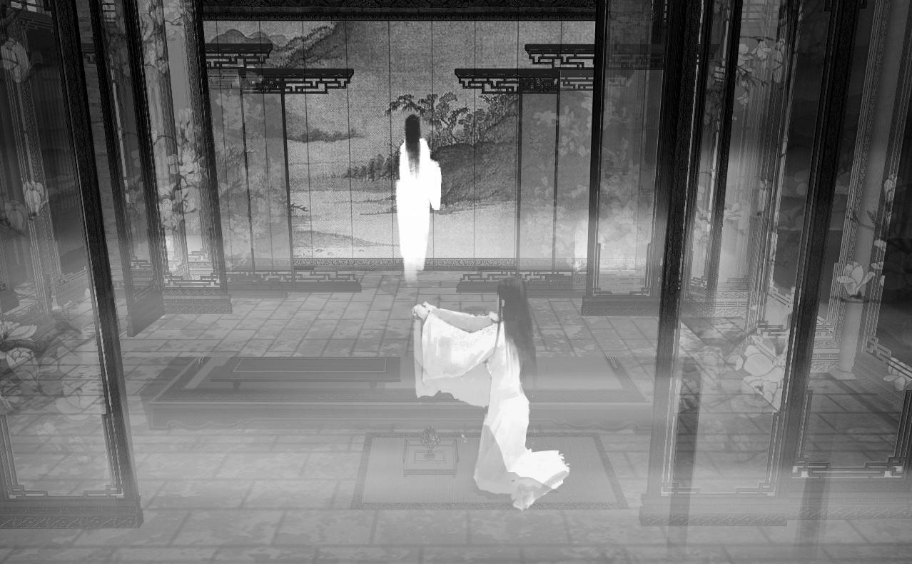 美术幕后 |《影》美术世界之第二章:子虞府,阴阳相克,明暗互转