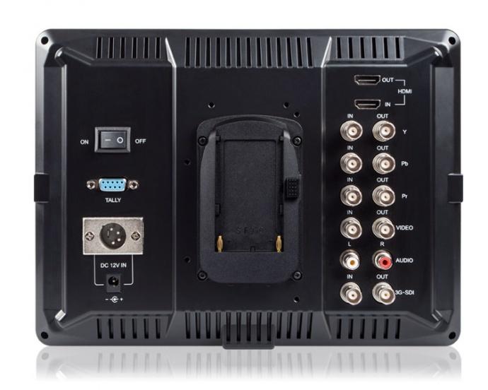 富威德FW1018SPV1 摇臂专用10.1寸1920*1200带SDI/HDMI摄影导演监视器 专业辅助对焦 全新升级FW1018S高清索尼摄像机监视器