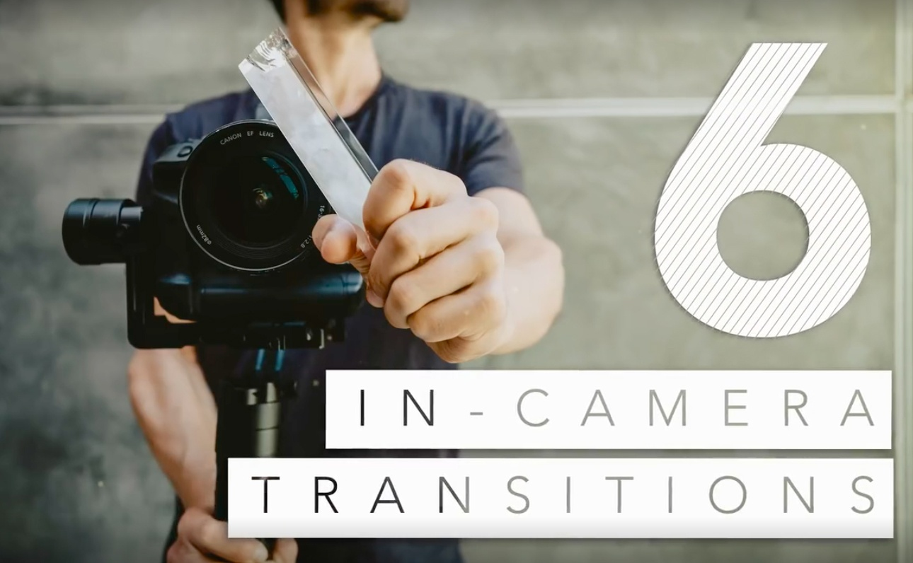 6种实用易上手的稳定器拍摄转场技巧