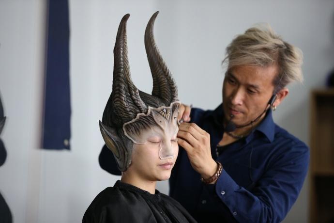 好莱坞特效化妆艺术大师AKIHITO池田朗人带你领略特效化妆的神奇魅力