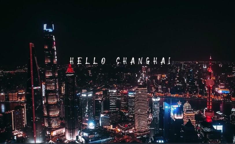延时作品:你好,上海