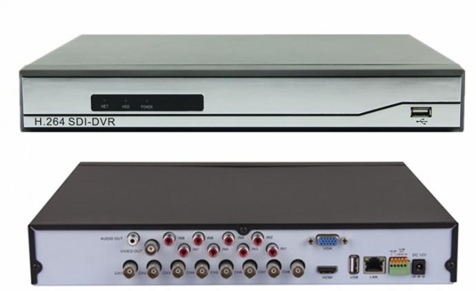 8路3g-SDI数字音视频同步录像机在教育系统上的应用