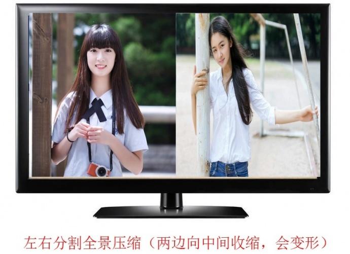 派尼珂新一代工业数字高清网络二画面分割器