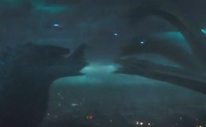 预告 | 《哥斯拉2》新款预告,四大怪兽亮相,谁是怪兽之王?