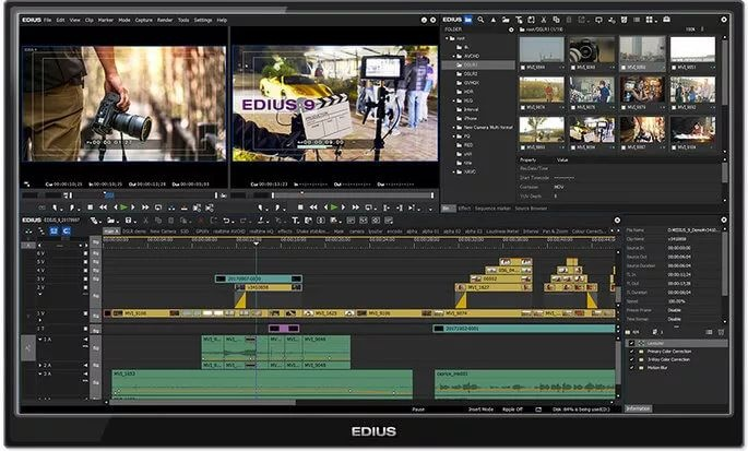 EDIUS Pro 9 高分辨率编辑软件