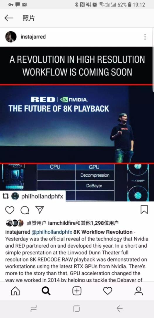 RED 和 NVIDIA 让 8K 电影剪辑成为现实