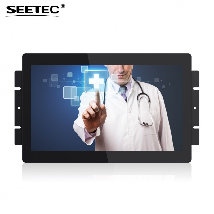 SEETEC视瑞特PF133-9CT 13.3寸IPS 1920x1080 全高清工控触摸显示器 电容屏10点触摸 工业触摸显示器 医疗设备显示屏 视瑞特PF133-9CT
