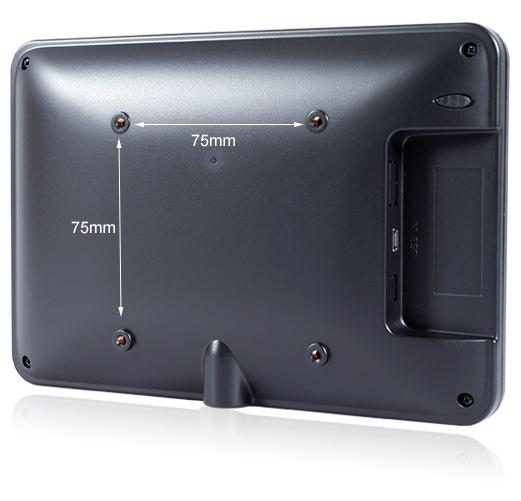 FEELWORLD富威德DP701CT 7寸携式电容触摸USB显示器 富威德DP701CT 仅一根USB线实现电源、触摸和显示 7英寸USB电容式触摸显示器 支持10点触摸 工业扩展显示屏