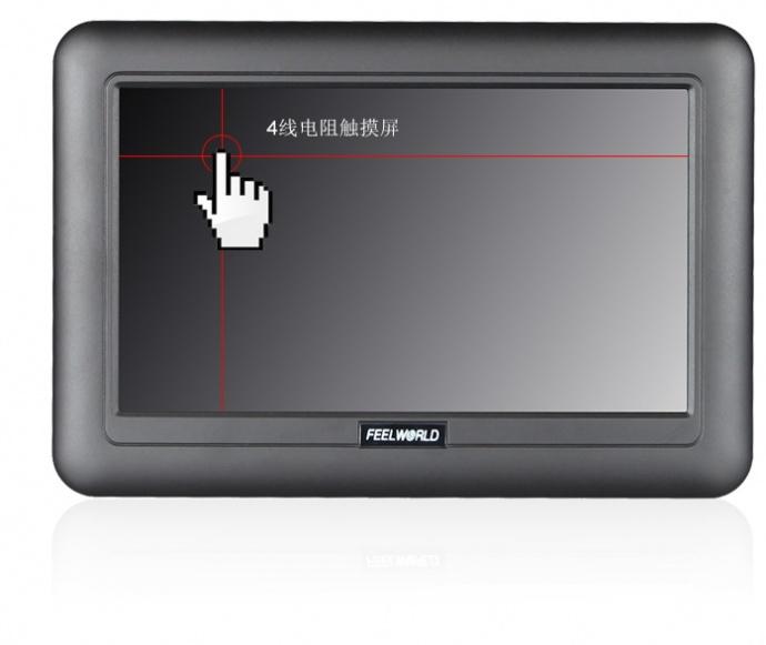 富威德DP701T 7寸800X480 TFT USB液晶触摸显示器 工业扩展 USB触摸显示屏 只需要一条USB数据线 扩展显示 物流设备显示屏