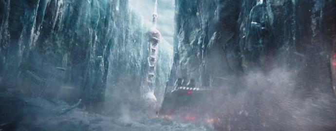 电影航拍 | 《流浪地球》被冰封的上海