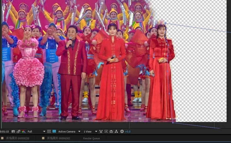 北京卫视是怎么把吴秀波P掉的?详解技术贴