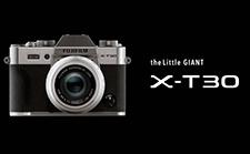 富士发布X-T30相机和XF 16 mm F2.8镜头,复古风很酷!
