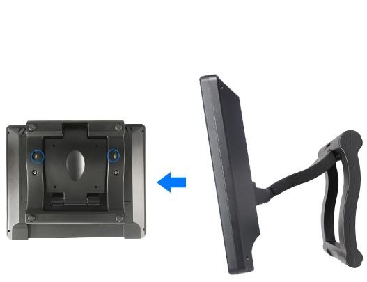 富威德DP121T 12.1寸800X600 TFT USB液晶触摸显示器 可扩展主显示器图片 一台PC可同时连接6台USB显示器 工业扩展触摸显示器