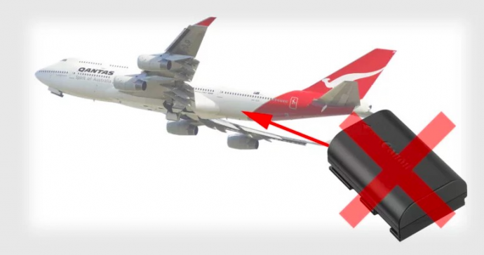 去美国拍电影拍片要注意了!摄影机摄像机等锂电池禁止飞机托运