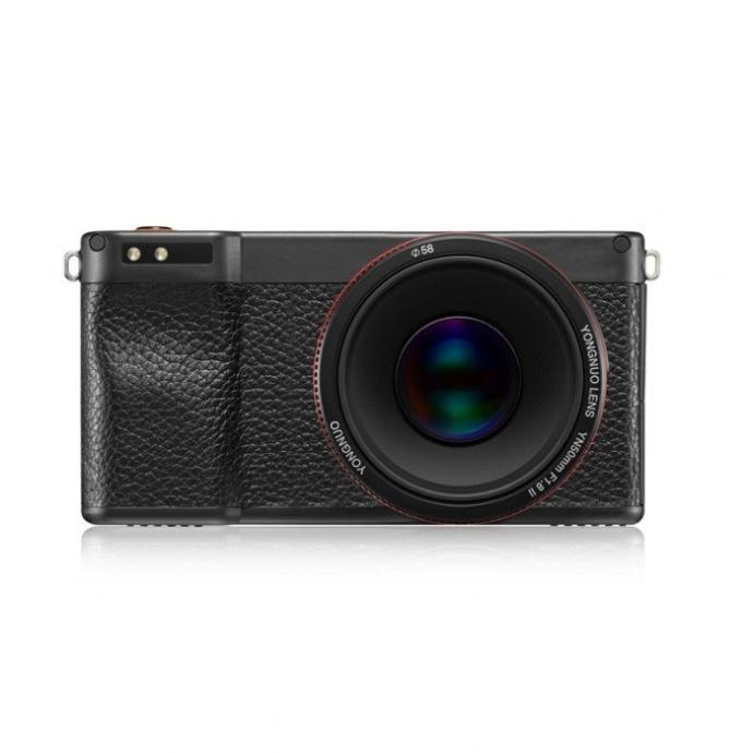国产采用安卓系统的永诺相机YN450 将于4月上市