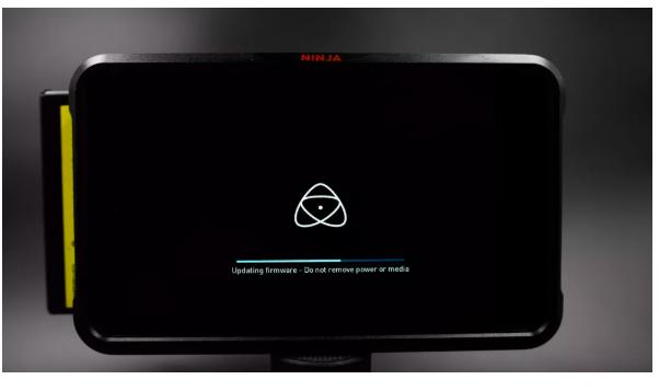 Ninja V 中文菜单了,下载Atomos 新固件更新