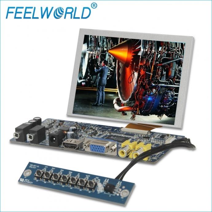 富威德 5寸640x480 TFT SKD液晶显示模组 富威德SKD5VAT-3带HDMI/VGA/AV接口 可选触摸和不带触摸 支持定制 厂家直销 欢迎咨询