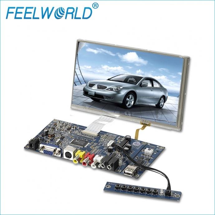 富威德SKD7VAT-9 7寸 800x480 TFT SKD液晶显示模组 多种接口可选HDMI/VGA/AV 支持定制 厂家直销 富威德SKD7VAT-9