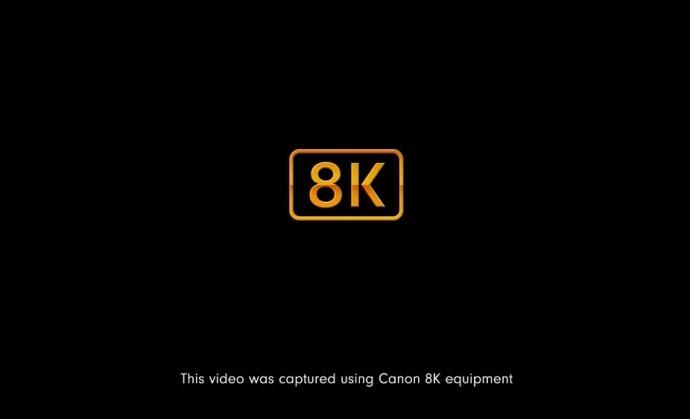 佳能8K摄影机还未发布,先上了首个 8K HDR 电影摄影机拍的视频