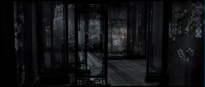 以镜写影 以影成画--浅析《影》在光影运用中的画面构图