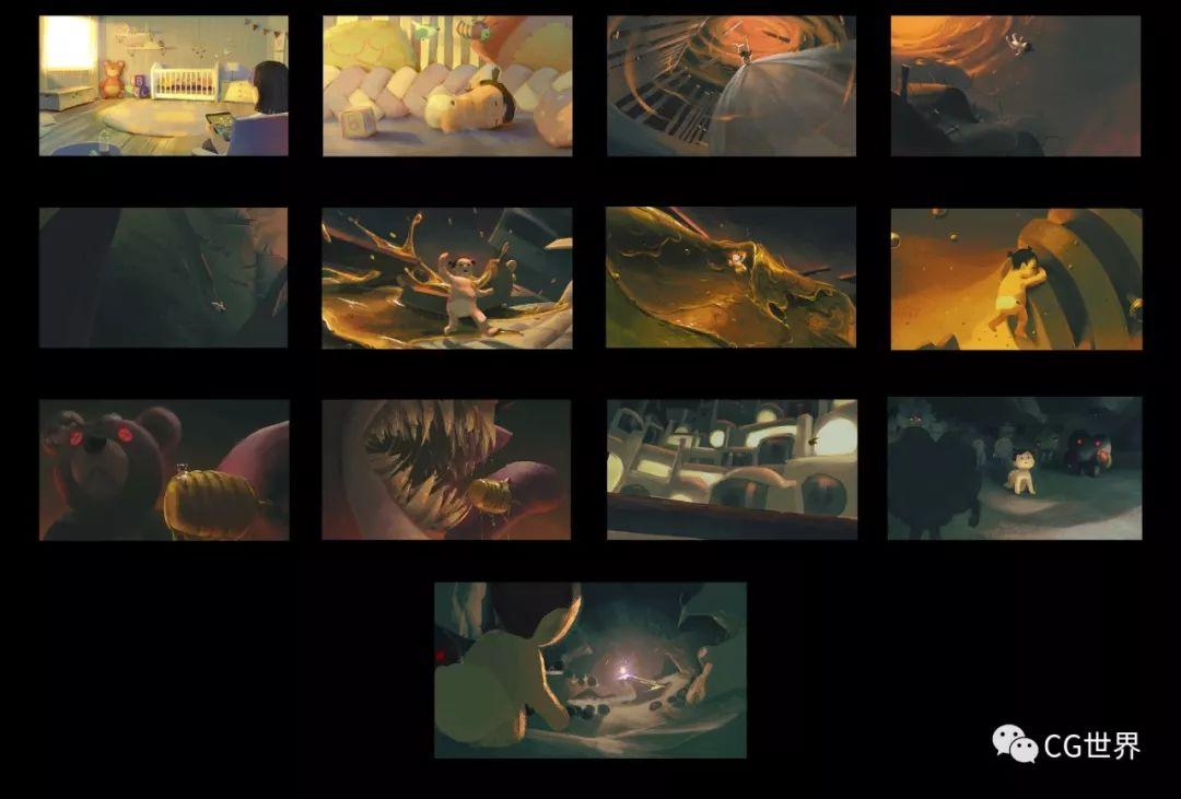 2D+3D用时2个月,获戛纳金狮奖的广告短片是怎么炼成的