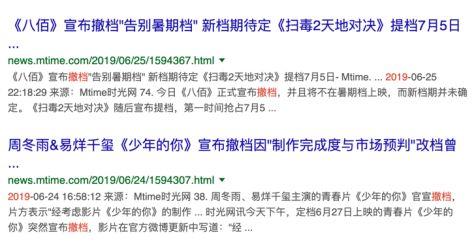 中国电影的六个拐点时刻
