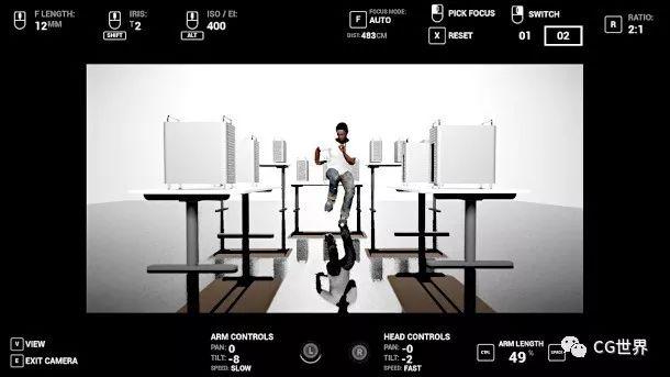 UE4电影拍摄模拟插件:Cine Tracer
