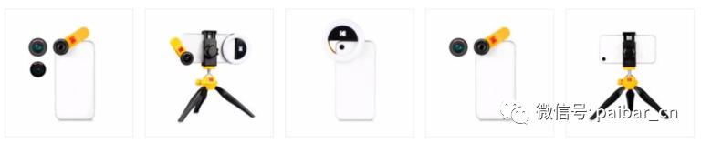 柯达携手Eye Caramba推出智能手机拍摄套装