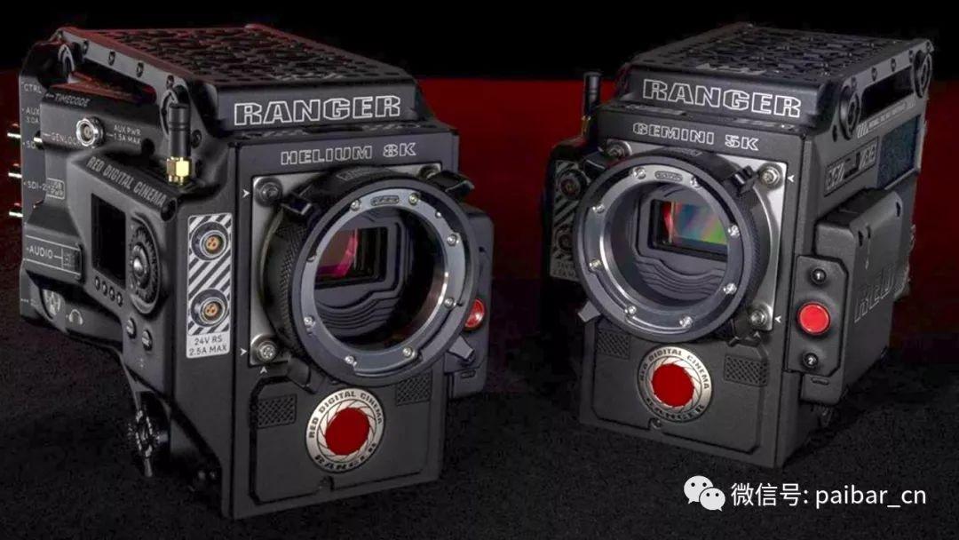 RED新推出RANGER HELIUM 8K和RANGER GEMINI 5K
