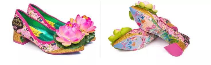 """丑哭中國網友的迪士尼""""花木蘭公主鞋"""",到底是怎么面世的?"""