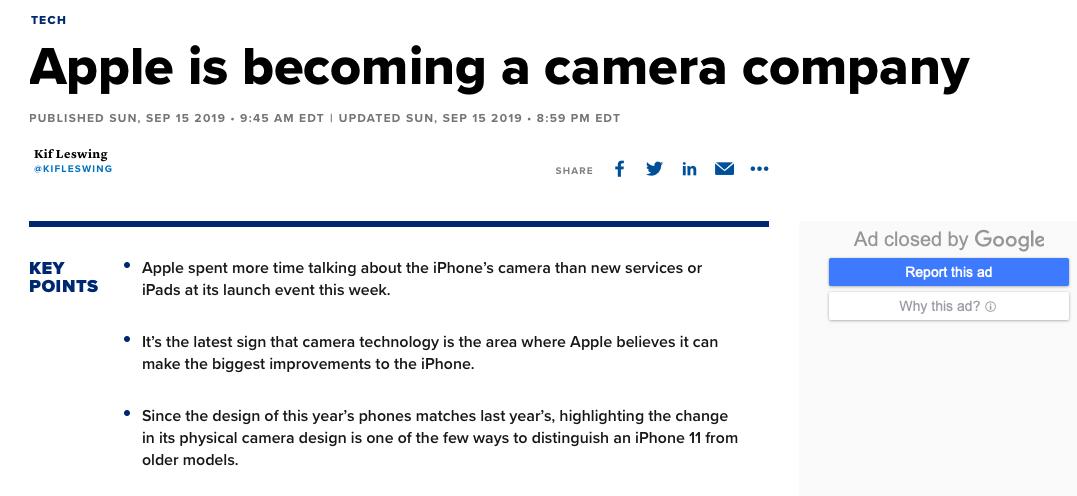 苹果被社交逼成为相机公司