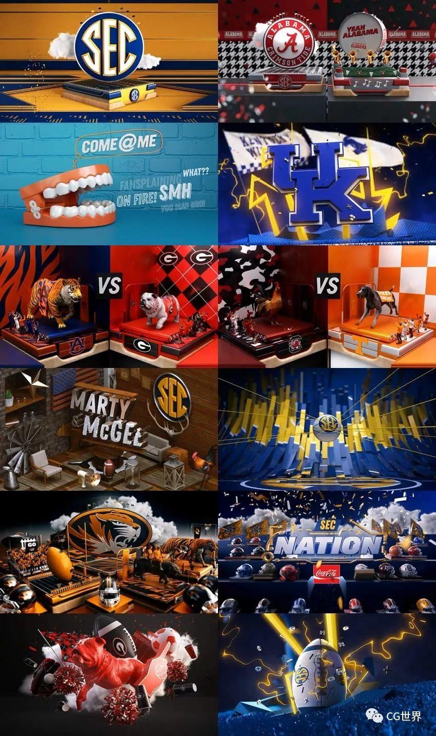 SEC Network2019品牌重塑动画