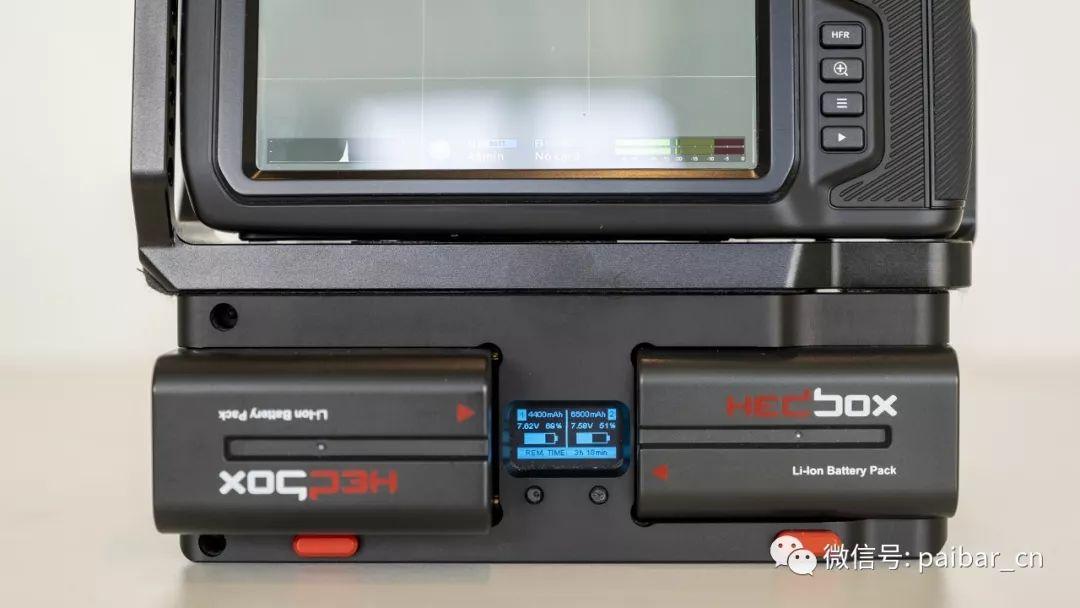CINE-X为BMPCC 6K和4K推出电池手柄