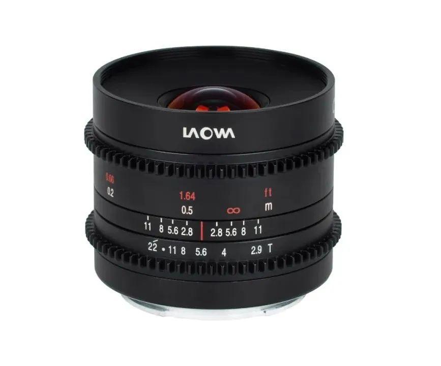 LAOWA released three cine lenses ,7.5mm T2.1 Cine, 9mm T2.9 Zero-D Cine ,15mm T2.1 Zero-D Cine-cine accessories