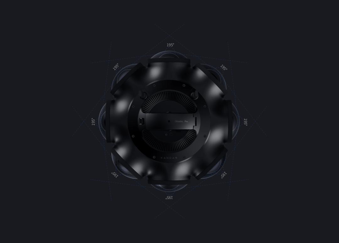 看到科技发布12K 3D影视级VR摄影机Kandao Obsidian Pro 5G+8K快讯 第6张