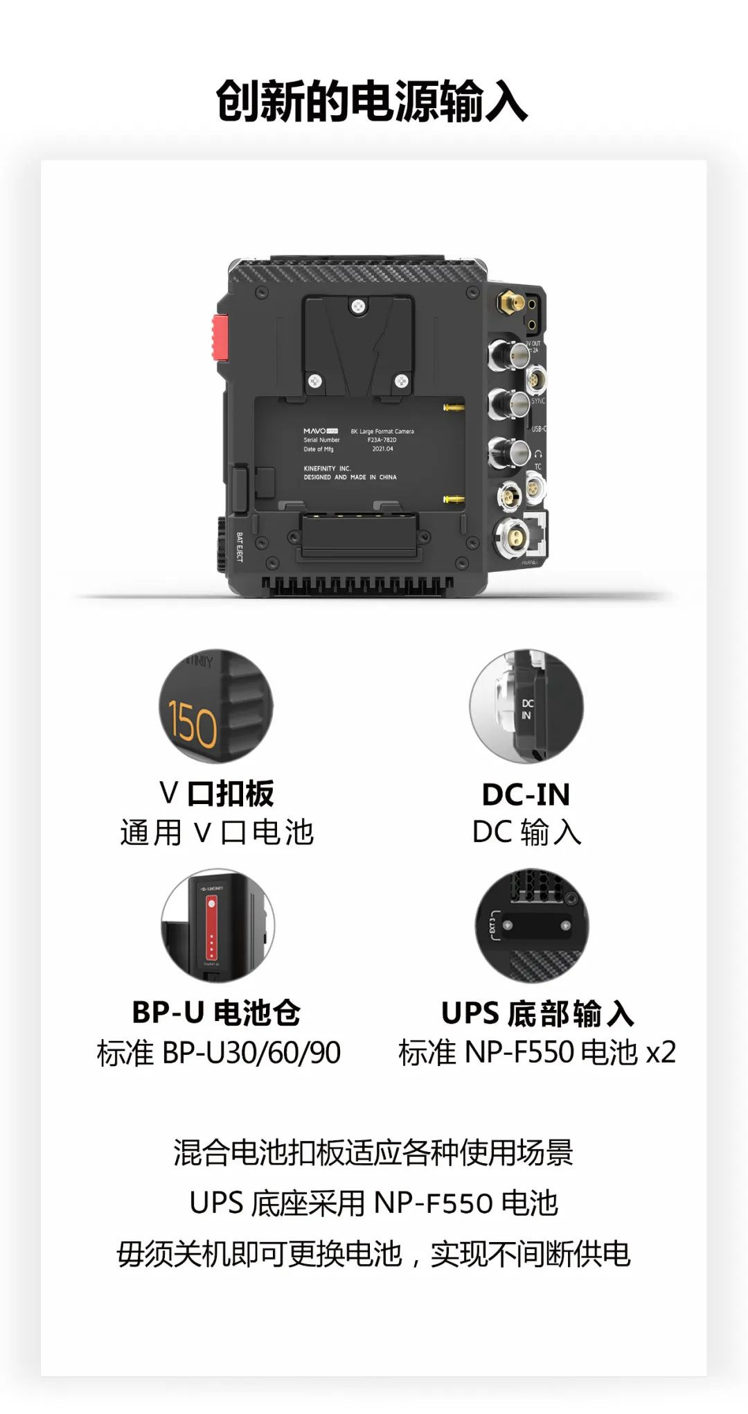 MAVO Edge 8K 正式发售! 8K摄影机 第6张