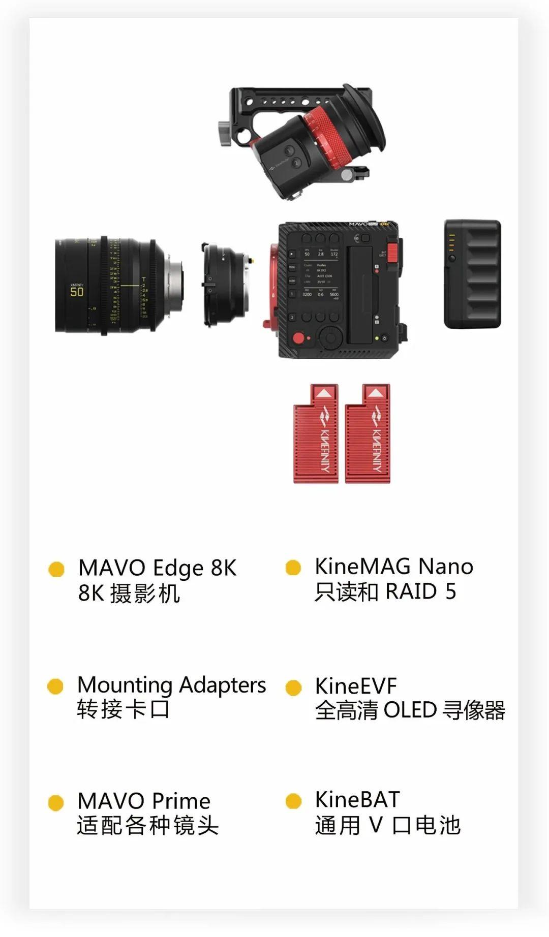 MAVO Edge 8K 正式发售! 8K摄影机 第9张