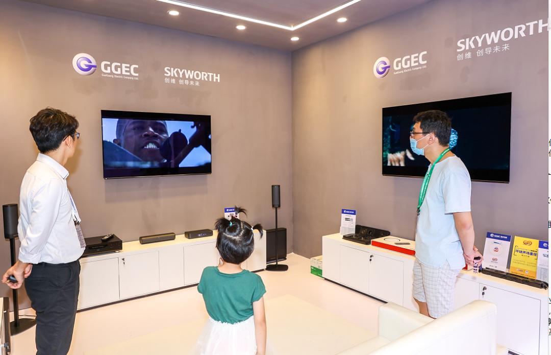 "4K/8K 超高清视频产业创新产品技术交易展""睛彩""纷呈 5G+8K快讯 第3张"