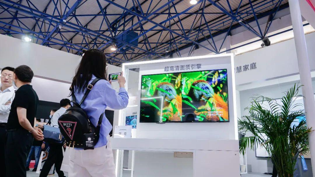 """上海海思以""""8K+AI: 全媒体 新终端""""为主题亮相CCBN 5G+8K快讯 第2张"""