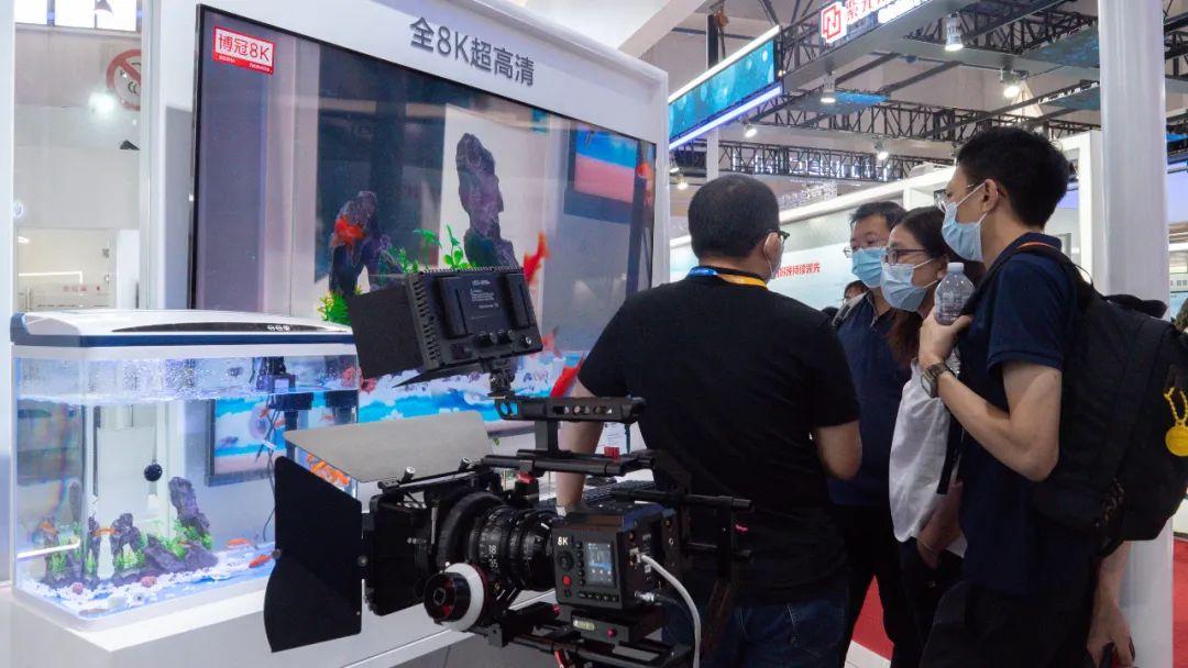 """上海海思以""""8K+AI: 全媒体 新终端""""为主题亮相CCBN 5G+8K快讯 第3张"""