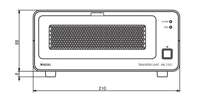 新款8K视频数据传输单元HB-7521 8k硬件 第4张