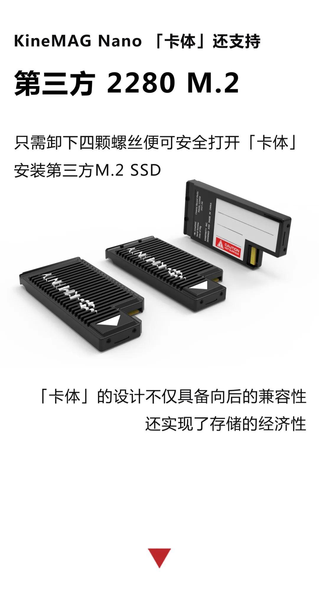 面向未来的8K摄影机系统,全新 KineMAG 存储卡,全解析 8K摄影机 第22张