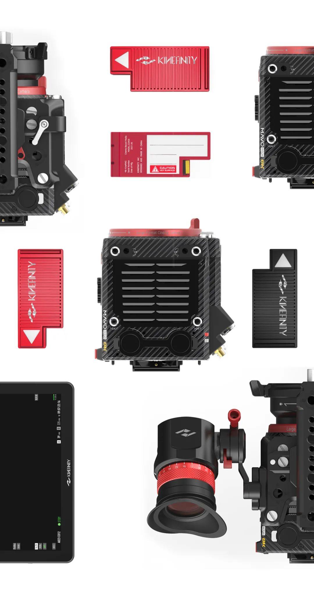面向未来的8K摄影机系统,全新 KineMAG 存储卡,全解析 8K摄影机 第23张
