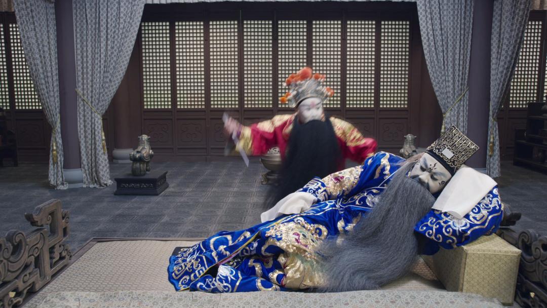 上海市8K全景声视听展示基地揭幕 8K全景声京剧电影《捉放曹》全球首映 8K视频案例 第12张